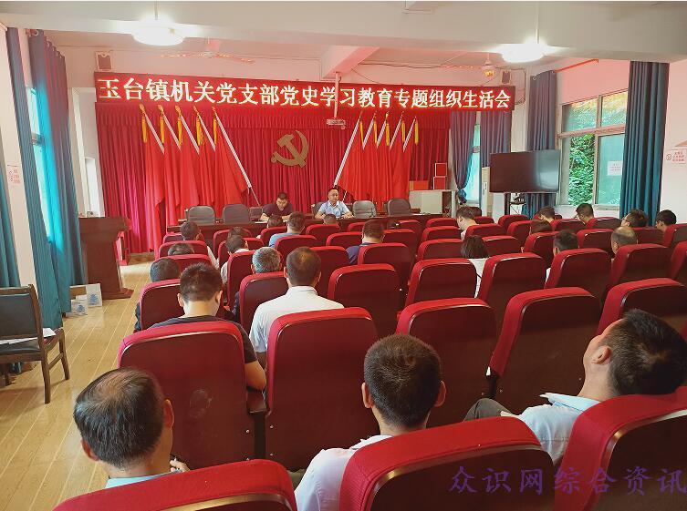 阆中玉台镇机关党支部召开党史学习教育专题组织生活会-伽5自媒体新闻网